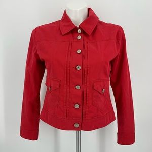 Westbound Red Long Sleeve Jacket